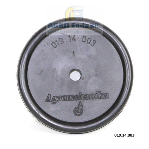 MEMBRÁN NYOMÓ 116mm 019-14-003 BM65/30