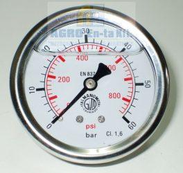 "MANOMÉTER 0-60 BÁR HK.1/4"" (D=63mm)"