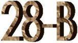 """28B 1 3/4"""" (44,45mm)"""